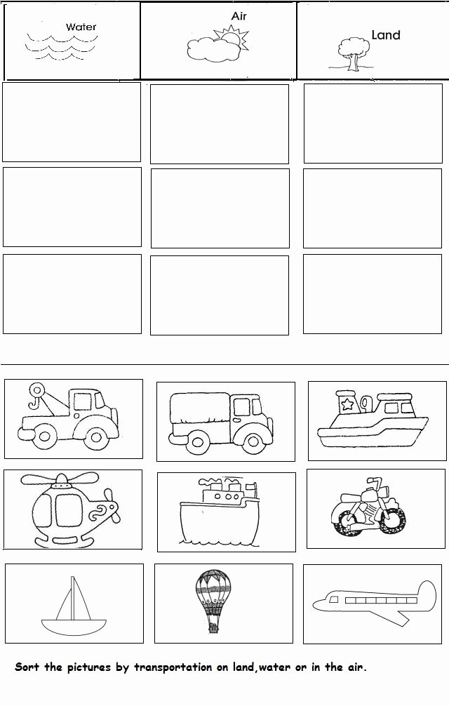 Sorting Worksheets for Kindergarten Zainab Smart Zainabsmart On Pinterest