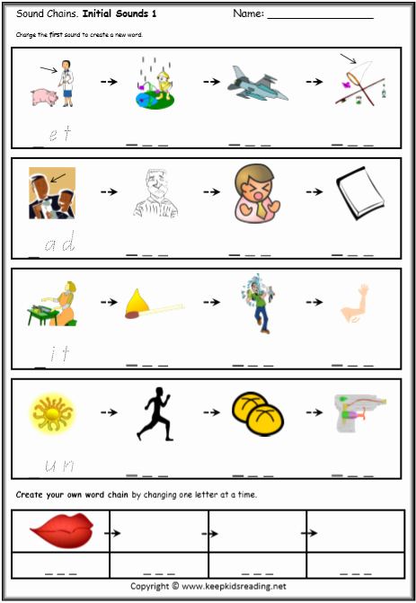 Sounding Out Words Worksheets Awesome Cvc Worksheets Printable Work Sheets • Keepkidsreading