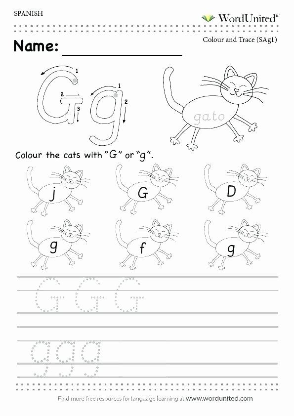Spanish Alphabet Chart Printable Read and Write the Alphabet Free Worksheets Printable