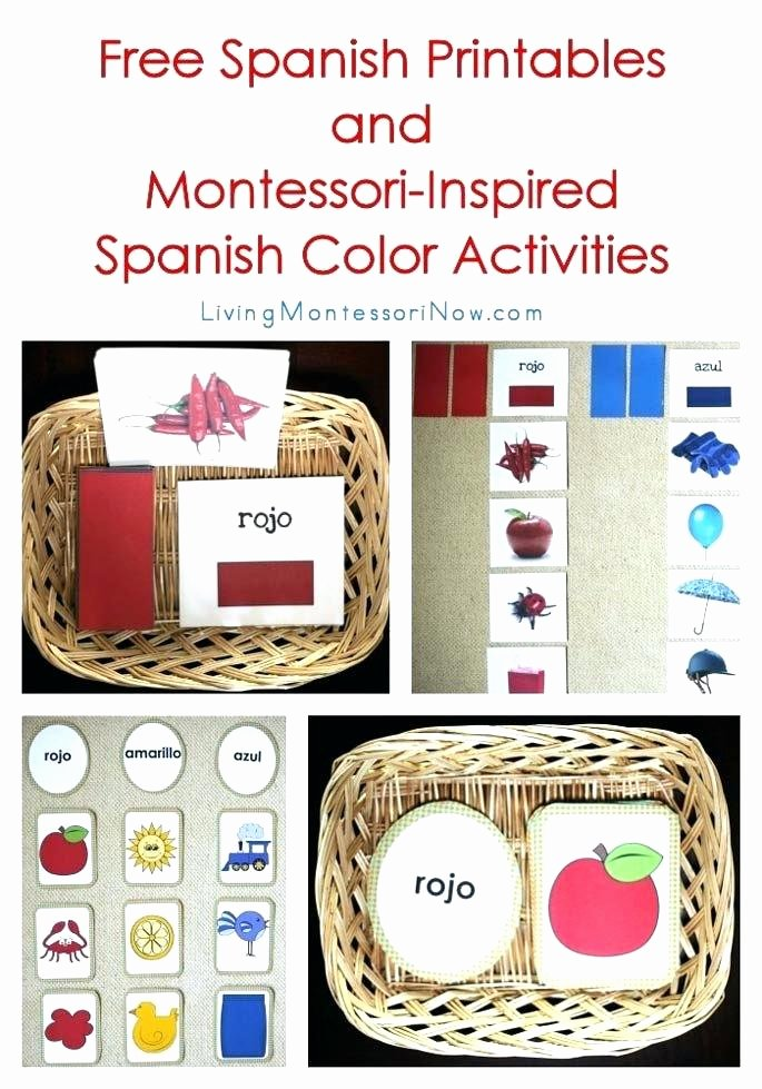 Spanish Alphabet Worksheets for Kindergarten Free Spanish Worksheets for Kindergarten
