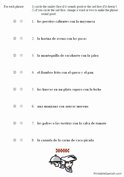 Spanish Alphabet Worksheets for Kindergarten Kindergarten Spanish Worksheets