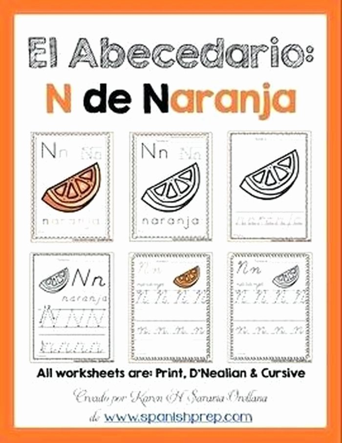 Spanish Alphabet Worksheets for Kindergarten Spanish Alphabet Worksheets for Kindergarten Antihrap