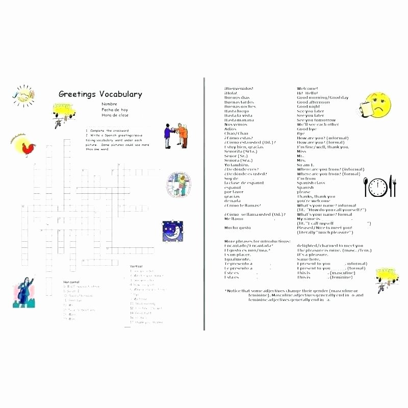 Spanish Conjugation Practice Worksheets Simple Spanish Worksheets