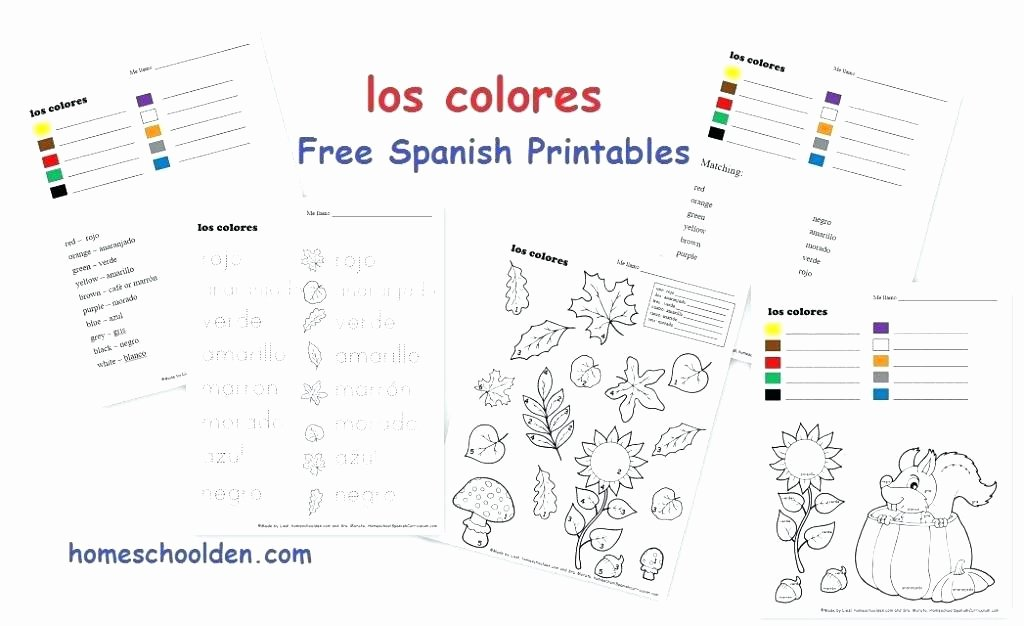 Spanish Kindergarten Worksheets Kindergarten Spanish Worksheets