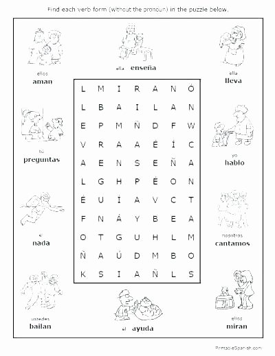 Spanish Months and Seasons Worksheets Spanish One Worksheets