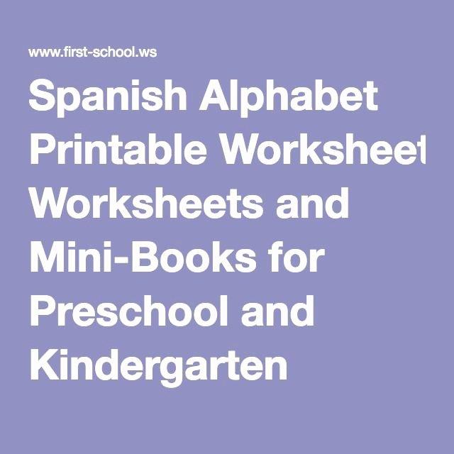 Spanish Phonics Worksheets Beautiful Printable Books for Kindergarten Inspirational Spanish