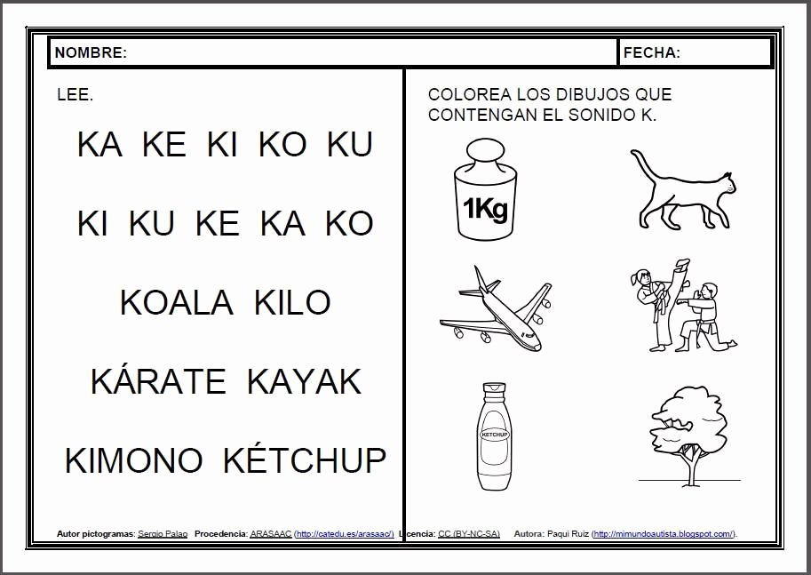 Spanish Phonics Worksheets Fresh Pin by Elena Caceres On Escolar
