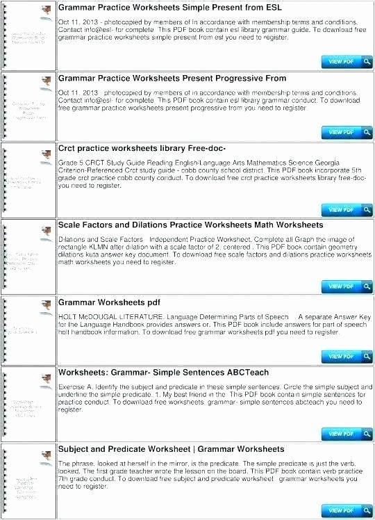 Spanish Present Progressive Worksheets Spanish Math Worksheets