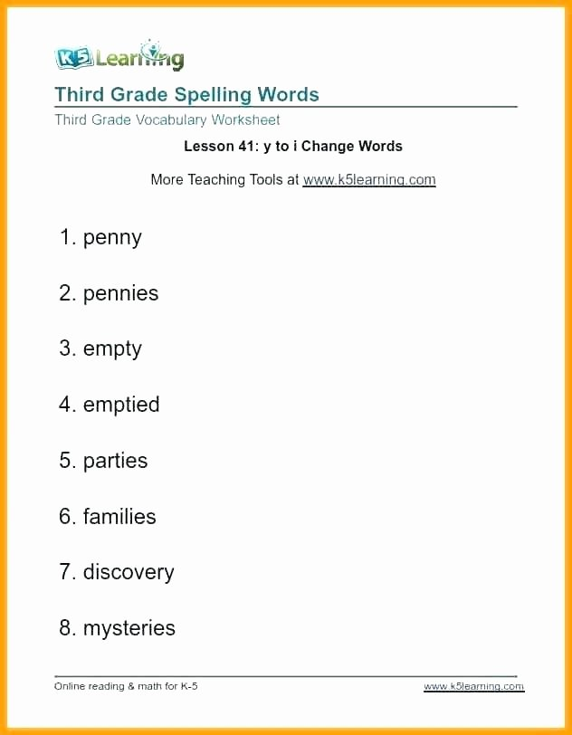 Spelling Worksheets 2nd Graders Spelling Worksheets for Grade 2