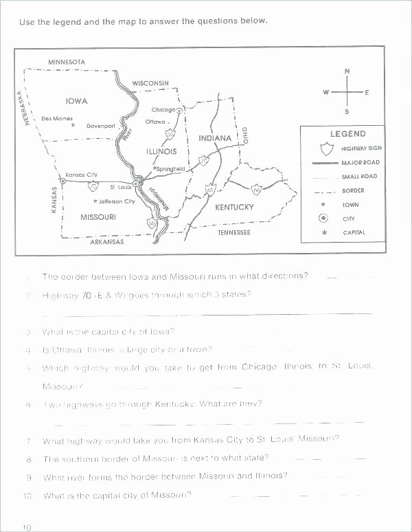State Capitals Printable Quiz Color the States Worksheet Twisty Noodle State Capitals
