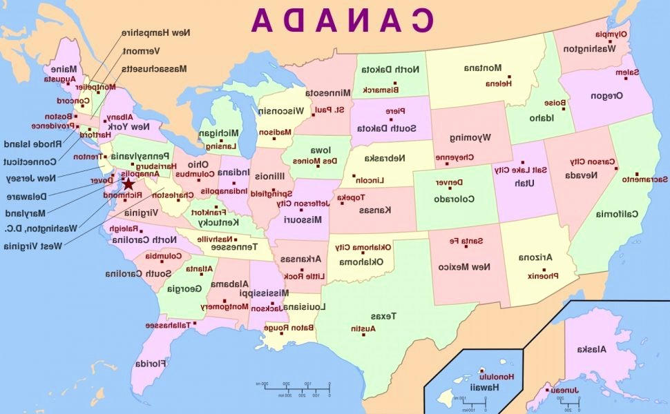 State Capitals Quiz Printable Us Map United States State Capitals Map Fresh Maps the