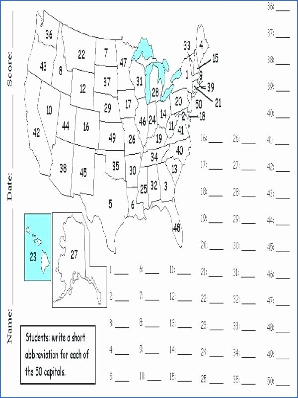 free learning state capitals worksheets us map puzzle worksheet states and blank learn maps the bl united l