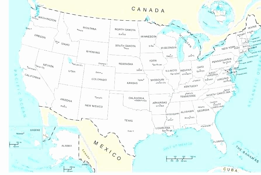 States and Capitals Quiz Worksheet Us Map States and Capital River United State Capitals