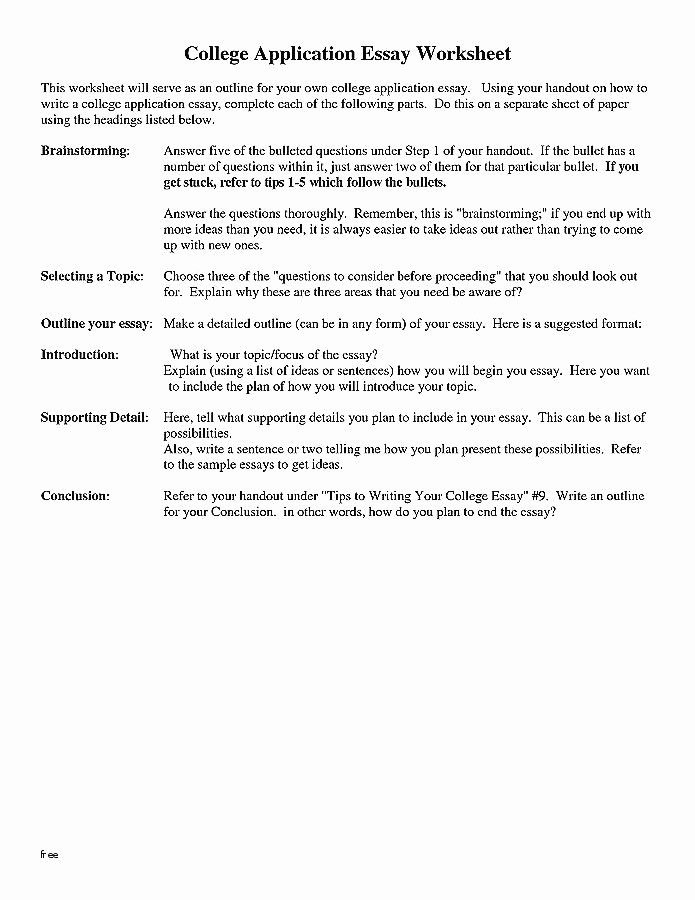 Step Up to Writing Worksheets Awesome Template for Essay and Write Resume New Scholarship Resume