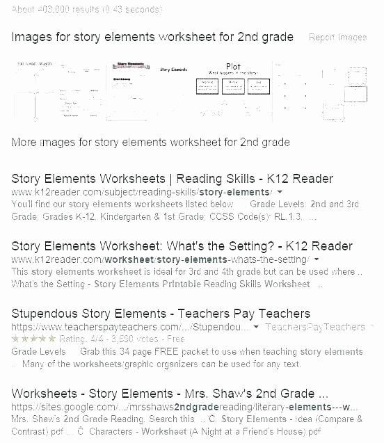 Story Elements Worksheet 5th Grade 4th Grade Reading Worksheets – Primalvape