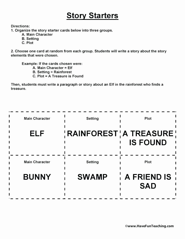 Story Elements Worksheets 2nd Grade Chapter Summary Worksheet Free Printable Worksheets