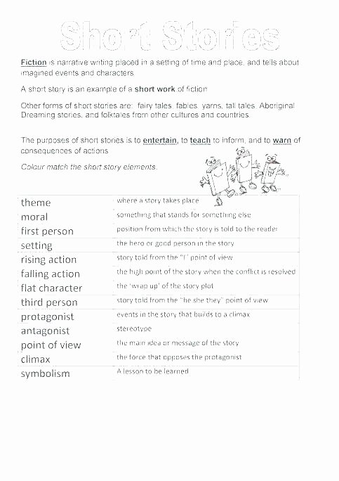 Story Elements Worksheets 2nd Grade Story Elements Worksheets 2nd Grade
