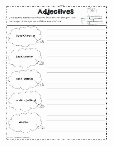 Story Elements Worksheets 2nd Grade Story Worksheet Free Printable Worksheets Made by Teachers
