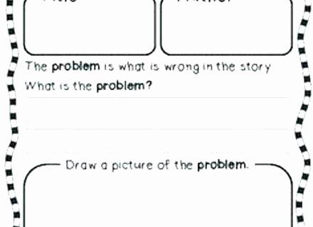 Story Elements Worksheets 2nd Grade Vaap Worksheets
