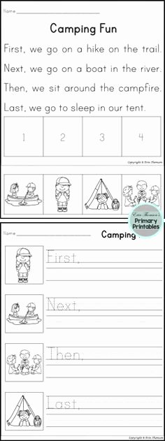 Story Sequence Pictures Worksheets 60 Best Preschool Sequencing Images In 2019