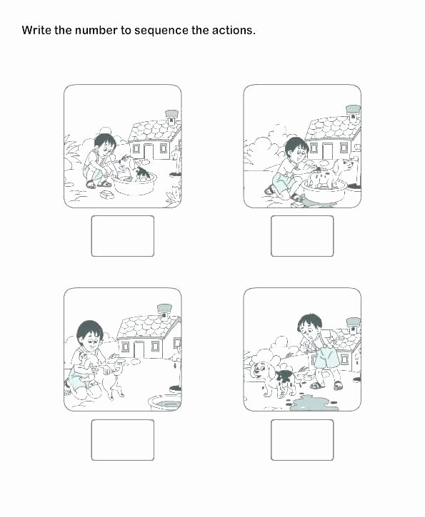 Story Sequence Pictures Worksheets Sequence events Worksheets Grade Spelling Ideas