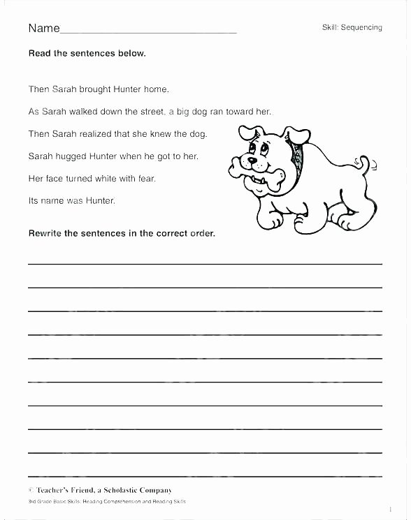 Story Sequence Worksheets for Kindergarten Cut and Paste Sequencing Worksheets – Primalvape