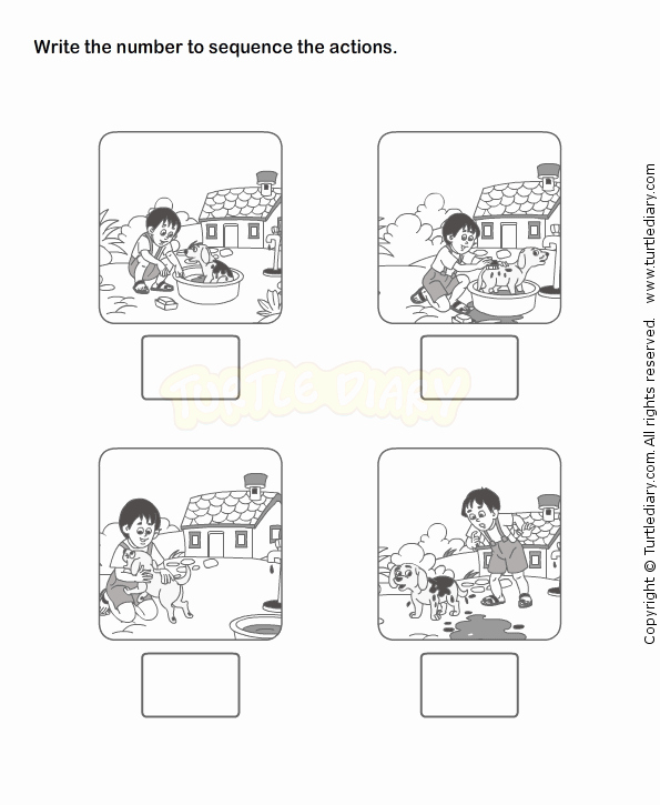 Story Sequence Worksheets for Kindergarten Sequencing Activities for Kindergarten Worksheets