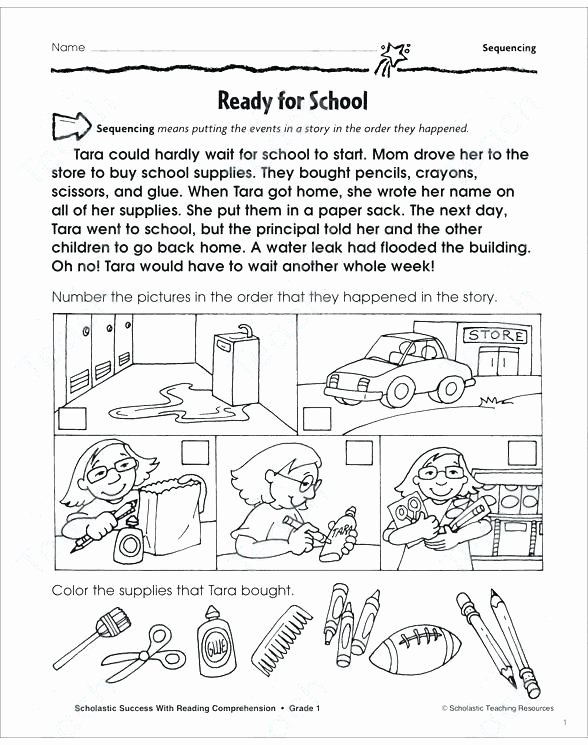 sequencing grade 2 collection printable leveled learning see inside image reading prehension worksheets sequenci