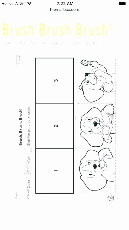 Story Sequencing Worksheets for Kindergarten Free Sequencing Worksheets for Kindergarten