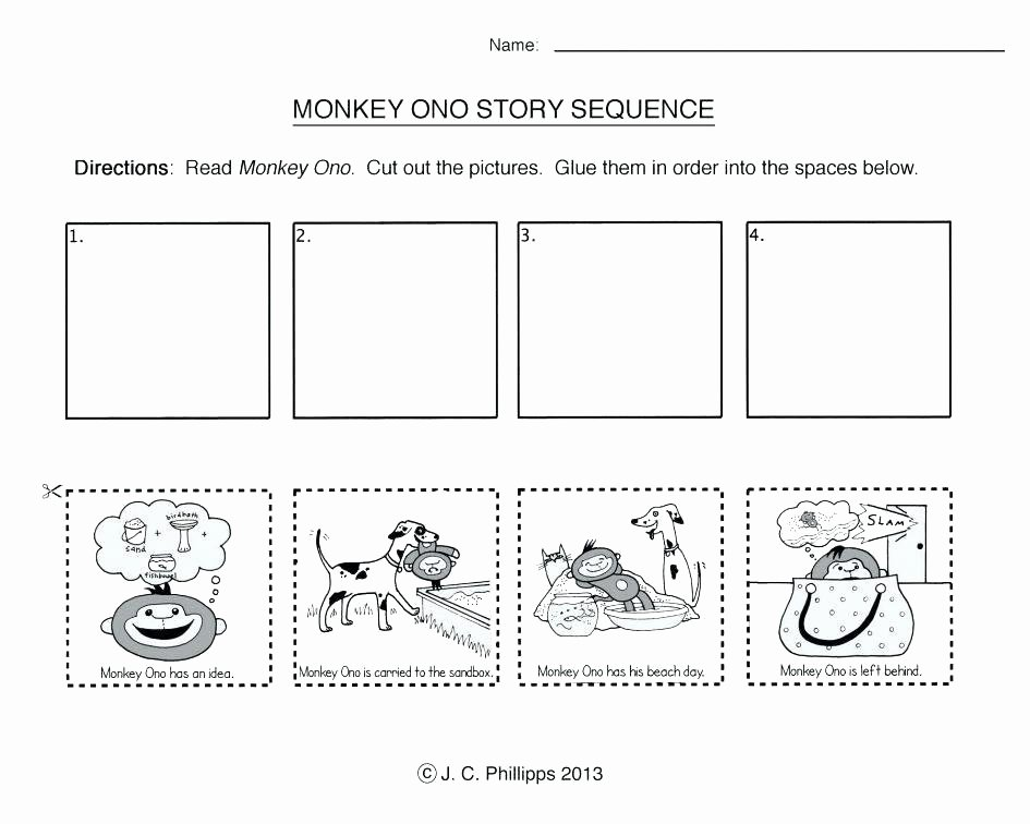 Story Sequencing Worksheets for Kindergarten Grade 3 Learners Module Sequencing events Worksheets for 1 6