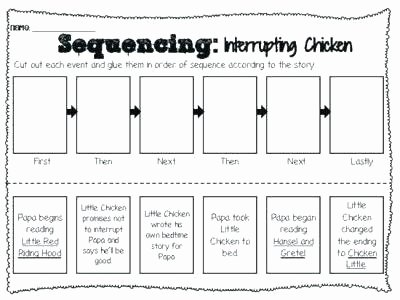 Story Sequencing Worksheets for Kindergarten Sequence Story Worksheets Sequencing Grade for Melting
