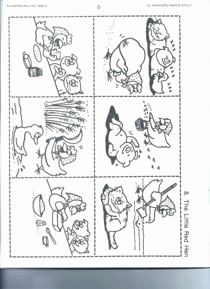 Story Sequencing Worksheets for Kindergarten Sequencing Worksheets Grade 3