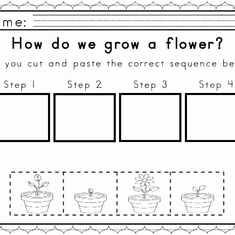 Story Sequencing Worksheets for Kindergarten Story Worksheets for Kindergarten – Petpage