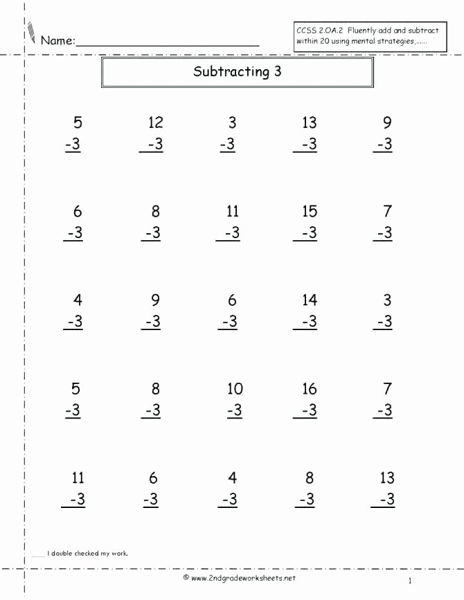 Subtracting Across Zeros Worksheet Pdf Adding Subtracting and Multiplying with Facts From