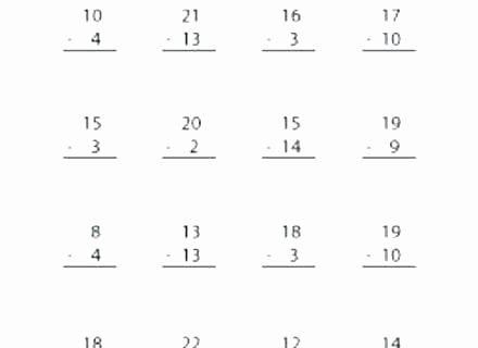 Subtracting Decimals Horizontal Worksheet Subtracting Decimals – Buchanansdachurch