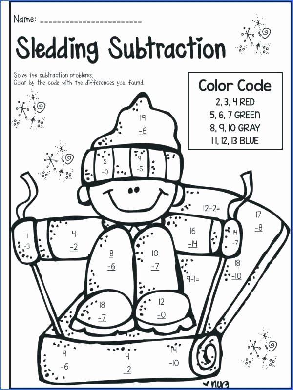 Subtraction Coloring Worksheets 2nd Grade 2ng Grade Math Worksheets – Nwpropinspect