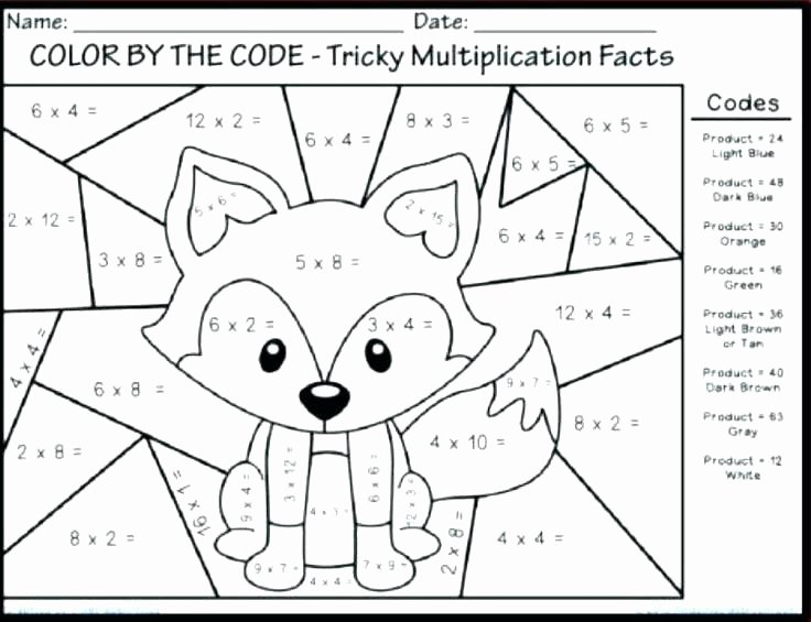 Subtraction Coloring Worksheets 2nd Grade Basic Math Worksheets for 2nd Grade Rocket Math Worksheets