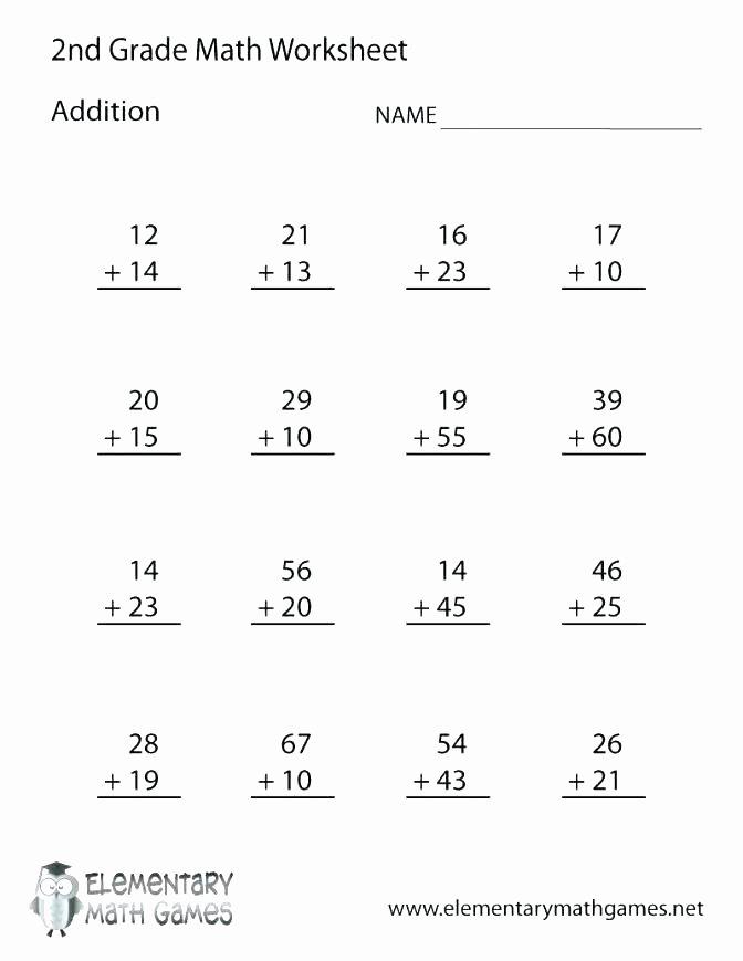 Subtraction Worksheet for 1st Grade Free 1st Grade Math Worksheets – Eurotekinc