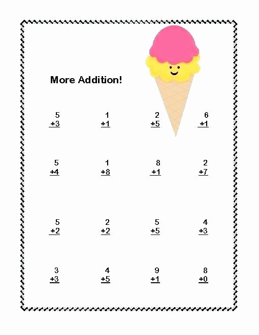 Subtraction Worksheets 1st Grade 1st Grade Addition Worksheets First Grade Math Addition