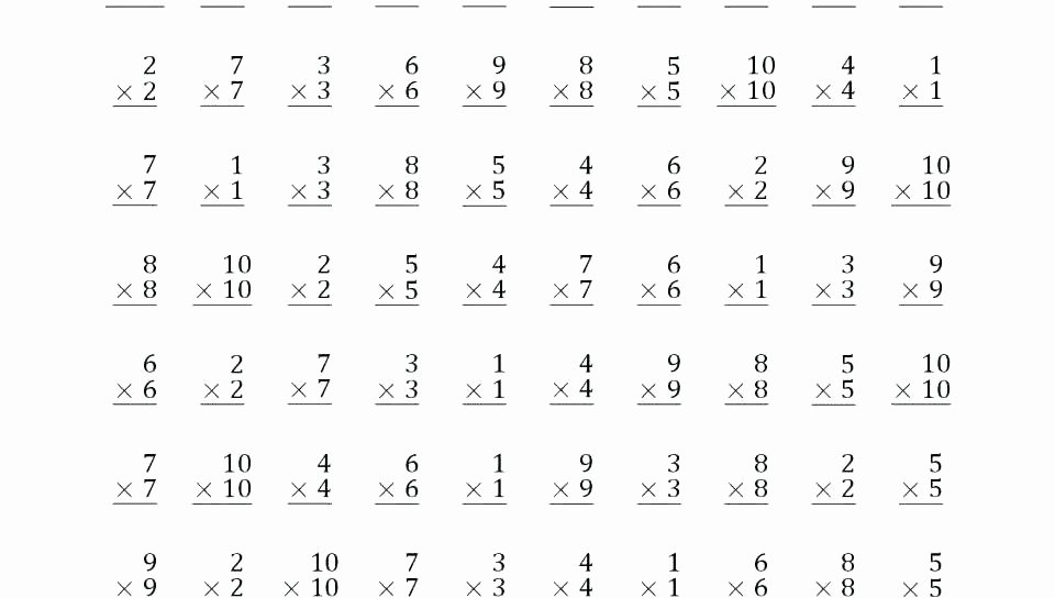 Subtraction Worksheets 1st Grade Subtraction Worksheets for 1st Grade
