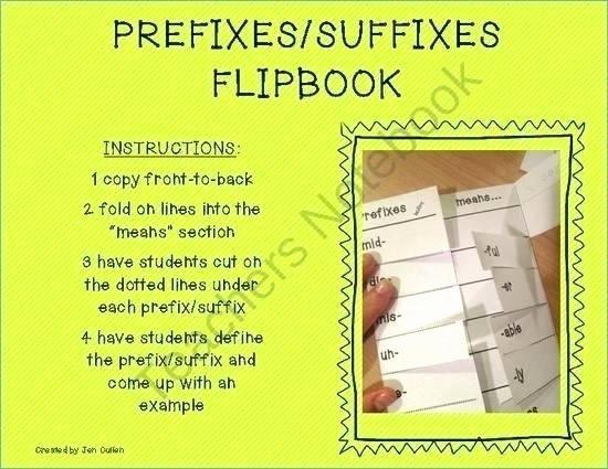 Suffix Ed Worksheet Suffix Worksheets Free Printable Prefix for Grade Prefixes