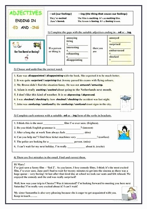 Suffix Ed Worksheets Grammar Suffixes Worksheets