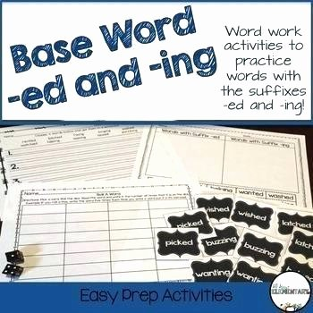 Suffix Ing Worksheet Application Practice Worksheets