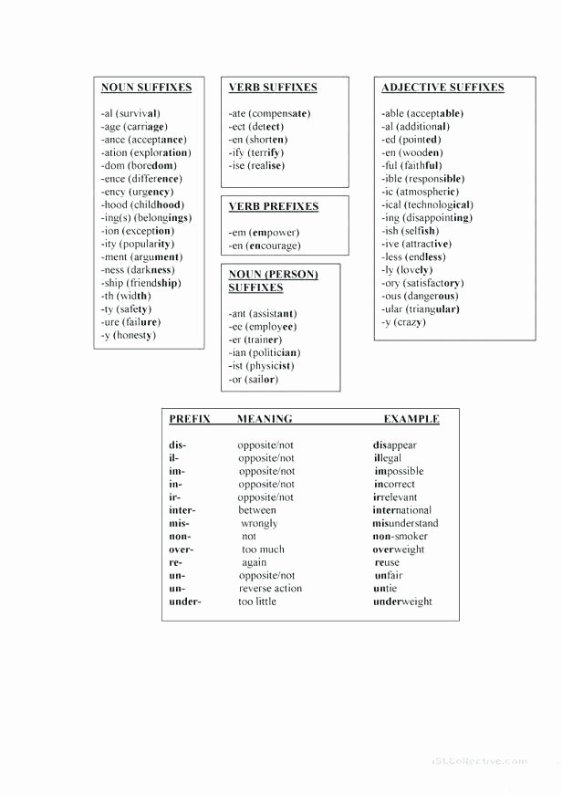 Suffix Ly Worksheet Suffix Ure