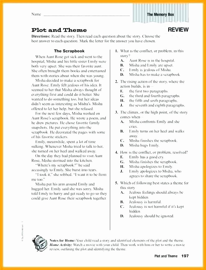 Suffix Ly Worksheets Best Of Identifying theme Worksheets for Middle School Sch