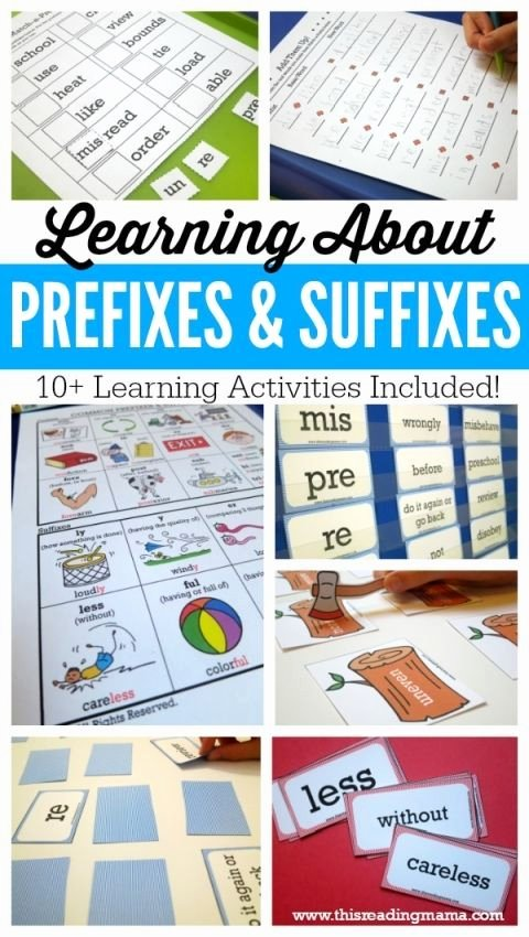 Suffixes Worksheets Free Learning About Prefixes and Suffixes Free Pack