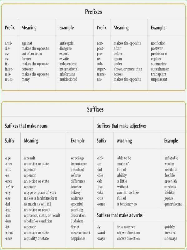 Suffixes Worksheets Free Suffixes Worksheets