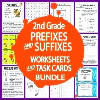 Suffixes Worksheets Pdf Worksheets Suffix Worksheet Prefix and Grade Suffixes I Ion