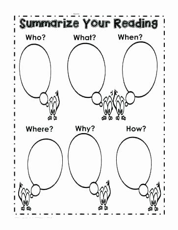 Summarizing Worksheet 3rd Grade Reading Response Journal Template New Summarizing Worksheets