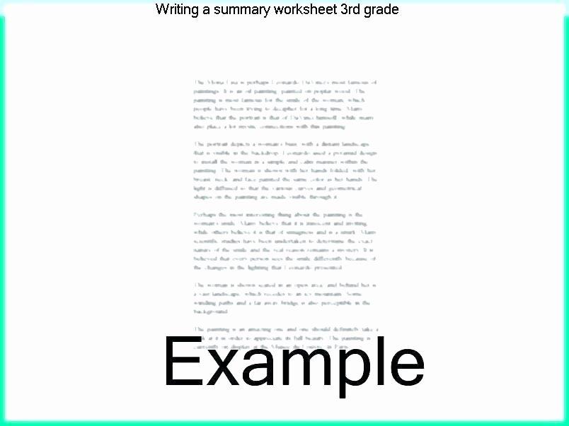 Summarizing Worksheet 3rd Grade Summarizing Worksheets Pdf Summarizing Worksheets Grade